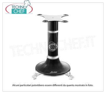 BERKEL - Black stand for flywheel slicer B3 / TRIBUTE / B114 Support pedestal in black painted cast iron for Flywheel Slicer Mod. B3 / TRIBUTE / B114, Weight 45 Kg, dim.mm.580x580x780h