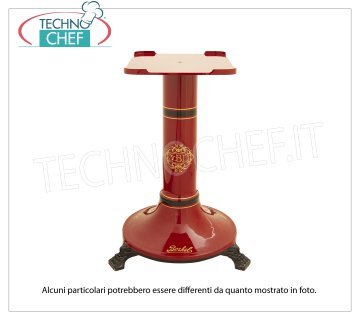 BERKEL - B2 red pedestal for flywheel slicer mod. B2 Support pedestal in red painted cast iron for Flywheel slicer B2, Weight 65 Kg, dim.mm.400x500x800h