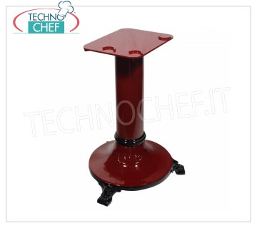 TECHNOCHEF - Pedestal, Mod.PD250 / 300 Pedestal for flywheel / manual slicers Mod. 250/300