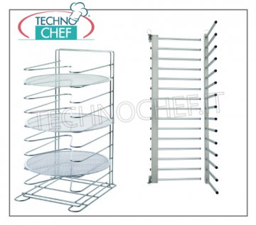 Pizza tray rack