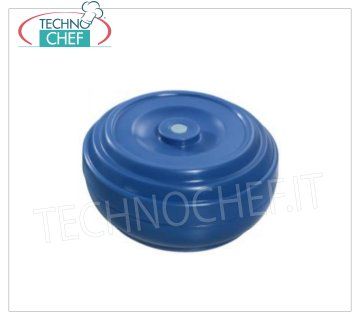 Isothermal bell for transporting single plates PT20 Isothermal bell for transporting single plates, Blue color, diameter 195x55h mm.