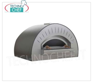 WOODEN OVEN for PIZZA 'QUATTRO PRO TOP' WOODEN OVEN for PIZZA 'QUATTRO PRO TOP', with 900x600 mm refractory hob, 3 pizzas capacity Ø 33 cm, Weight 195 Kg, dim.mm.1150x890x720h