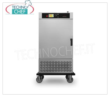 Mobile cold holding refrigerated food cabinets