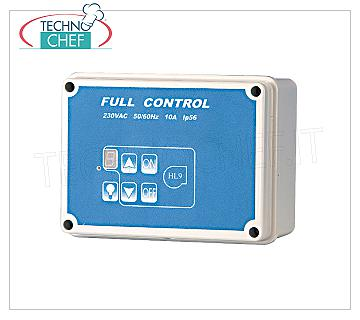 Digital speed controller Digital speed controller with light switch and gas valve, V.230 / 1, Kw.1,00, Hz 50, max 10A