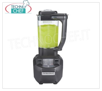 Hamilton beach Blender-Blender, HAMILTON BEACH, with 1,4 lt copolyester glass, High Performance version, with Wave Action system, V.230 / 1, 3,2 A, Weight 4,3 Kg, dim.mm.190x216x410h
