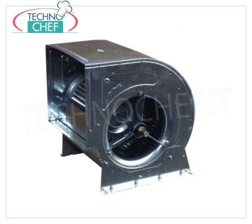 Belt and pulley-driven centrifugal fans for extraction bins