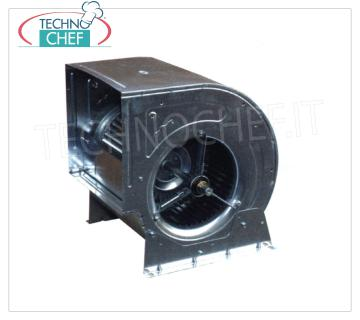 Transmission centrifugal fans with belts and pulleys for suction bins Centrifugal fan with double inlet blades forward without motor, for installation with belts and pulleys in suction box, dim.mm.385x298x400h
