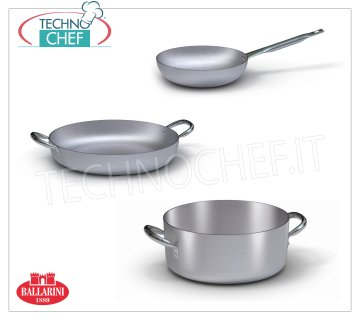 Aluminium pots and pans - BALLARINI series 4000 - thickness 4 mm