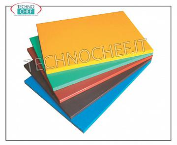 Technochef - Polyethylene cutting boards Polyethylene cutting board with colored stop