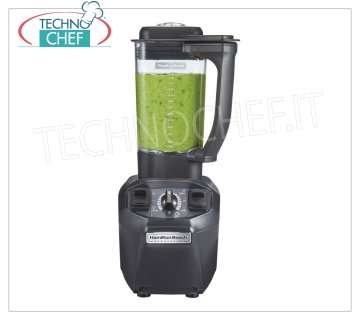 HAMILTON BEACH - Professional TANGO Blender / Blender lt.1,4, BLENDERTANGO model Blender-Blender, HAMILTON BEACH, with 1,4 lt copolyester glass, High Performance version, with Wave Action system, V.230 / 1, 3.2 A, Weight 5,8 Kg, dim.mm.190x447x216h