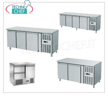 Gastronorm fridge/freezer refrigerated tables