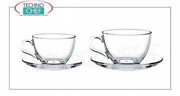 Glass coffee - cappuccino cups