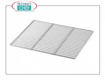 TECHNOCHEF - 600x400 mm stainless steel grill, Mod.GREN60X40I 600x400 mm stainless steel grill for blast chillers Mod.JOFONE
