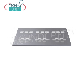 Perforated stainless steel partition Partition in perforated stainless steel