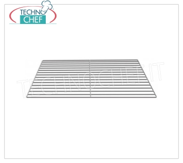 Stainless Grill Stainless steel grid, dim.mm.530x550