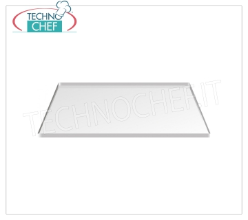Stainless steel baking tray Stainless steel baking tray for pastry, dim.mm.600x400x12h