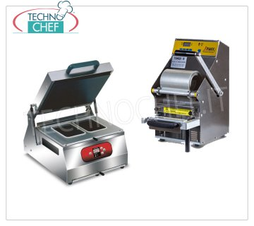 Manual sealing machine for trays