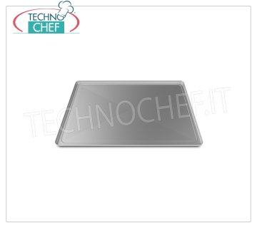 Unox - ALUMUNUM flat tray, Mod.TG405 ALUMUNUM PLATE TRAY, mm 600x400x15H - Indicated unit price, available in packs of 2