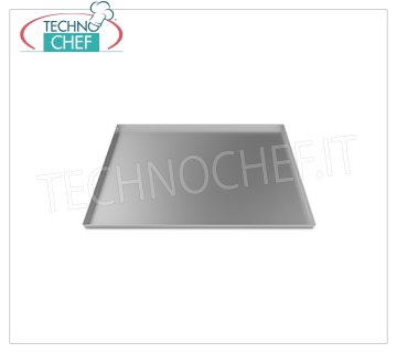 Unox - INOX TRAY 600x400 mm, model TG450 STAINLESS STEEL TRAY, mm 600x400x20h