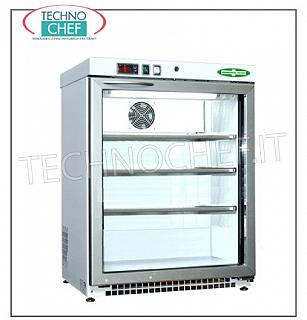 Pharmacy Refrigerator, 1 Door, lt.129 Frigor for medicines, 1 door, ventilated, temp. + 2 ° + 8 °, lt.129, structure in white non-toxic skinplate