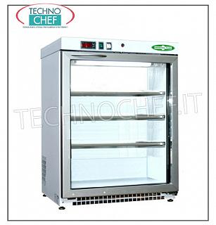Fridge-Freezer for Pharmacies, 1 Door, lt.129 Freezer for medicines, 1 door, ventilated, temperature -15 ° -25 °, lt.129, structure in white non-toxic skinplate