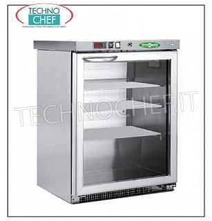Refrigerator-Freezer for Pharmacies, 1 Door, lt.129 Freezer for medicines, 1 door, ventilated, temp-15 ° -25 °, lt.129, stainless steel structure 304