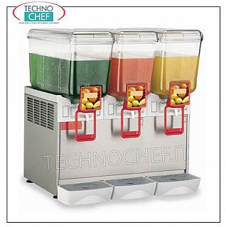 Chilled drink dispensers Refrigerated drinks dispenser with 3 5 lt tank, V.230 / 1, dimensions 370x400x550h mm