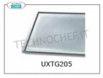 TECHNOCHEF - ALLUMUNIO flat TRAY, Mod.TG205 ALLUMUNIUM flat TRAY, 342x242 mm - Indicated unit price, available in 2-piece packs