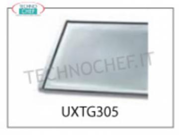 TECHNOCHEF - ALLUMUNIO flat TRAY, Mod.TG305 ALLUMUNIUM flat TRAY, mm 460x330x15H - Indicated unit price, available in packs of 2 pieces