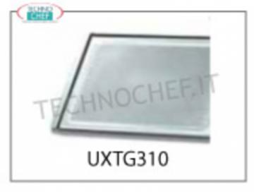 TECHNOCHEF - FLAT ALUMINUM PLATE, Mod.TG310 FLAT ALUMINUM PLATE, 460x330x15H - Indicated unit price, available in packs of 2 pieces