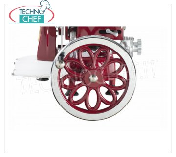 TECHNOCHEF - Fiorano Margherita flywheel, Mod.FIORATO MARGHERITA 250/300 Daisy-shaped flywheel for flywheel / manual slicers Mod. 250/300