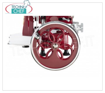 TECHNOCHEF - Flywheel Pink 250/300 Rose flowered flywheel for flywheel / manual slicers Mod. 250/300