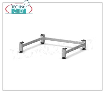Unox - Stand for Positioning on the Ground - Format 600x400, mod.XWKRT-00EF-F Stand for Positioning on the Ground, Format 600x400, Weight 4 Kg, Dimensions mm L 794x688x150h